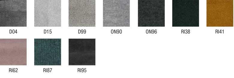 habillage encadrement, tête et accessoires de lit textiles microfibres LUNELY
