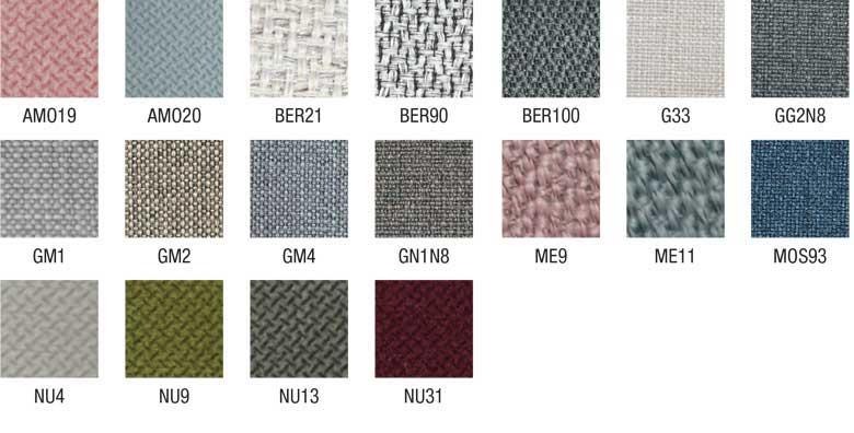 habillage encadrement, tête et accessoires de lit textiles tissus LUNELY